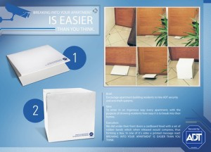 ADT - Outrageous Direct Mail Campaigns